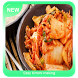 Easy kimchi making