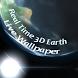 Real Time 3D Earth (LW) by Antonio Del Grande
