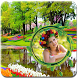 Garden Photo Frame by Photo Kindle