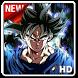 Goku Ultra Instinct Wallpaper by SKATEN STUDIO