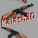 AK47 Kalachnikov 3D by Lionel BARASC