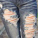 Torn Pants Design by omadmad