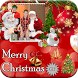 Merry Christmas GIF Photo Frame : Christmas Editor by Mountain Pixels