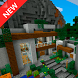 Modern Mountain Home MCPE map by Fisher Studio