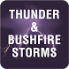 Thunder & Bushfire Storms by Robert John Ellis