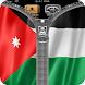 Jordan Flag Zipper Screenlock by country zipper lock screen free hd
