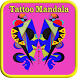 Tattoo Mandala Colouring Book by Karoshio Technologies