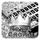 Silver Crown Keyboard by Cool Theme Studio