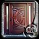 Simple Wooden Door Design by Reincarnation