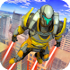 Flying Real Robot Iron Superhero Rescue Mission by White Sand - 3D Games Studio