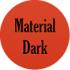 Material Dark Icon Pack by Android Customization