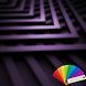 Zig Zag Violet XP Theme by Arjun Arora