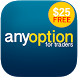 anyoption - free $25 account by Applifi Ltd