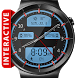 Chrome LED HD Watch Face by DeNitE Appz