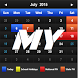 Calendar 2016 Malaysia +PH +SH by GG Studios