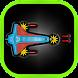 Rocket Crash by Inderpreet Pabla