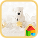 Love winter DodolLauncherTheme