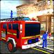 Fire truck Simulator, Impossible Metro City Rescue