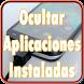 Ocultar Aplicaciones Instaladas Gratis Guia by ProGuidenApp