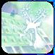 Elven deer keyboard by Bestheme Keyboard Designer 3D &HD