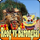 Atraksi reog ponorogo versus barongsae terbaik by bintanstudio