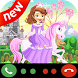 Fack Call From Princess Sofia by fouroulou studio