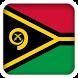 Selfie with Vanuatu flag