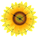 Sunflower Clock Live wallpaper by Mobile Masti Zone