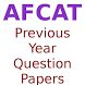 AFCAT Previous Year Questions Papers by Subhadra AK