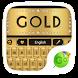gold go keyboard theme by GOMO Dev Team