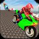 Fast Superhero Bike Stunt Racing by Mind Game Productions