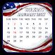 USA Holiday Calendar by RIMAN VEKARIYA