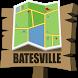 Batesville Map by Mappopolis