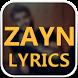 ZAYN Songs Lyrics | Album : Mind Of Mine