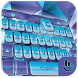 HD Sliver Purple Diamond Keyboard Theme by Sexy Free Emoji Keyboard Theme