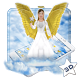 Beautiful Golden 3D Holly Angel Theme by 3D Themes World