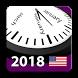 2018 US National Holiday Calendar AdFree + Widget by Rhappsody Technologies