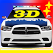 Toddler 3D Kids Car Toy Police by PurePush
