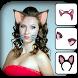 Cat Face Photo Edito by Canary Info