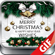 GIF Christmas Santa Wishes Greeting Cards Stickers by Ocean Grampus Apps