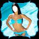 Bikini Suit Photo Montage by PhotoFrames