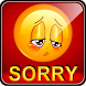 Sorry Messages Status & Quotes by Generate-Barcode.com Barcode Software