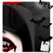 Vampire Blood Fangs Theme by cool theme designer