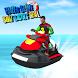 Water Slide Boat Racing Real