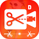 Dual Video Cutter Video Editor by Photo Video Art Editor
