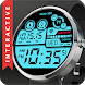 Hybrid 360 Digital Watch Face by Siamcybersoft Apps