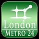 London tube + NR (Metro 24) by Dmitriy V. Lozenko