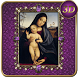 Virgin Mary Lilac 3D Next Launcher theme by spikerose