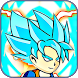 Goku Super Blue Saiyan Reborn by Apkgame
