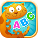 English alphabet game for kids by bonbongame.com
